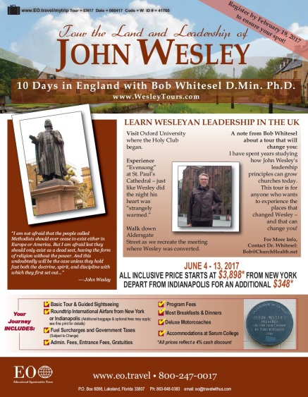 2017 p.1 WHITESEL WESLEY LAND & LEADERSHIP TOUR